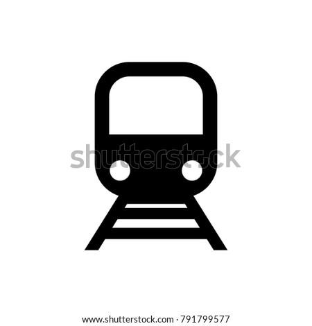 train subway logo icon transportation