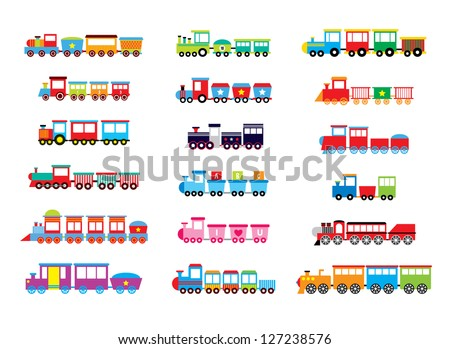 Shutterstock train vector