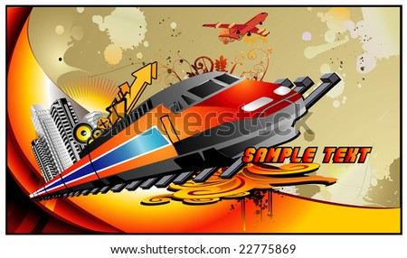 train vector composition