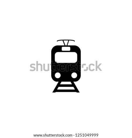 train vector icon train sign