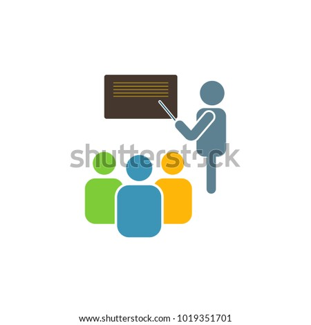 training lecture icon