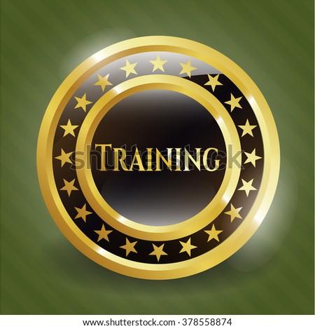 Training shiny badge