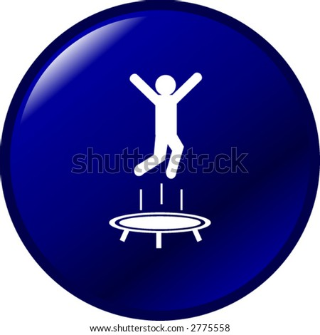 trampoline jumping button