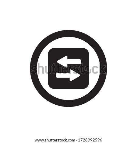 Transfer Icon Vector Illustration Style Stock photo ©