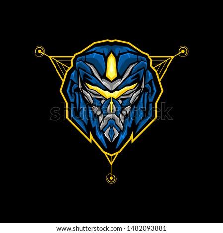 transformer head esports logo