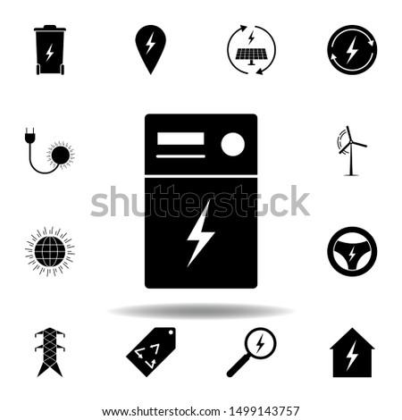 transformer  lightning icon