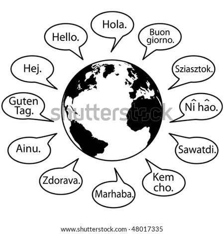 translate earth languages say