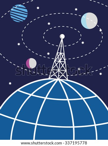 transmission tower or radio