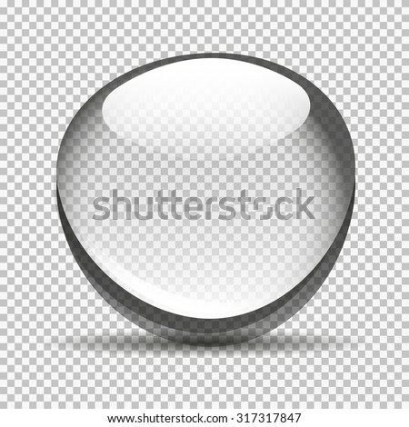 Transparent bubble bowl big