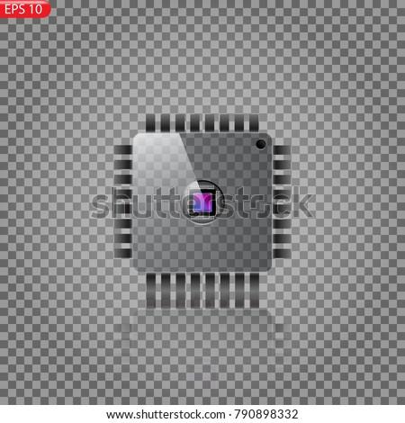 transparent glass processor