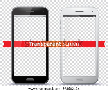 Transparent Mobile Phone Screens.