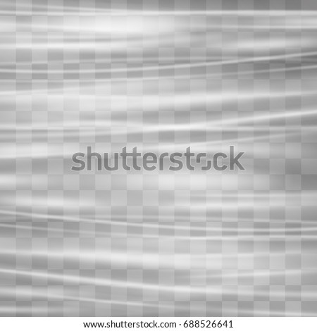 Transparent plastic wrap texture. Stretched polyethylene cover stylization vector. Wrinkled surface for realistic effect. Pollution source material mock up.