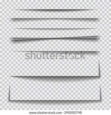 transparent realistic paper