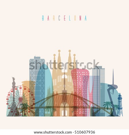 transparent styled barcelona