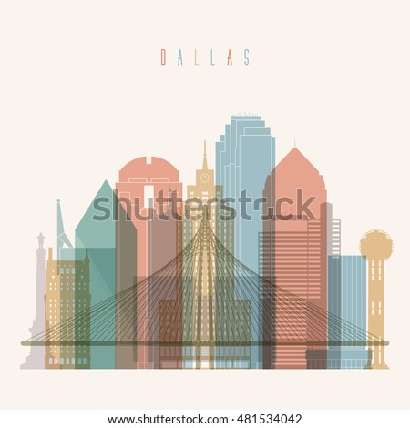 transparent styled dallas state