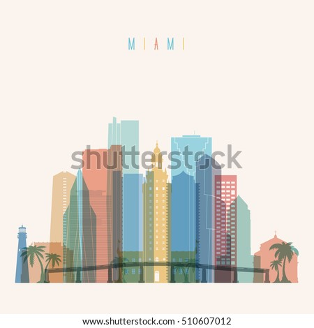 transparent styled miami state