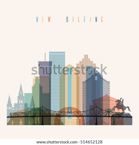 transparent styled new orleans