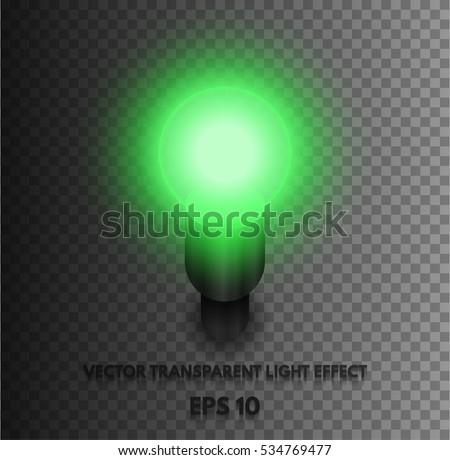 transparent vector realistic