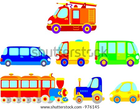 Transport 001 - stock vector