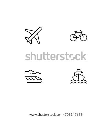 Transport Icon line