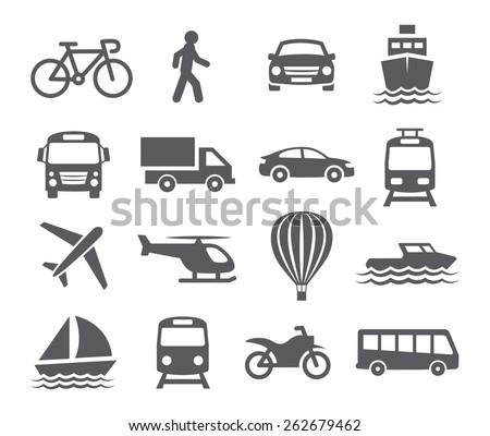 stock-vector-transport-icons