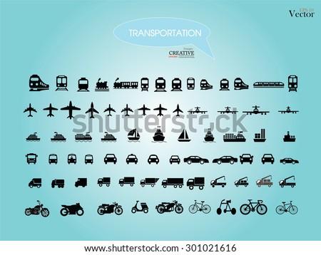 Transport icons.transportation .logistics.logistic icon.vector illustration.
