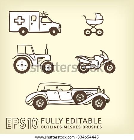 transport set include