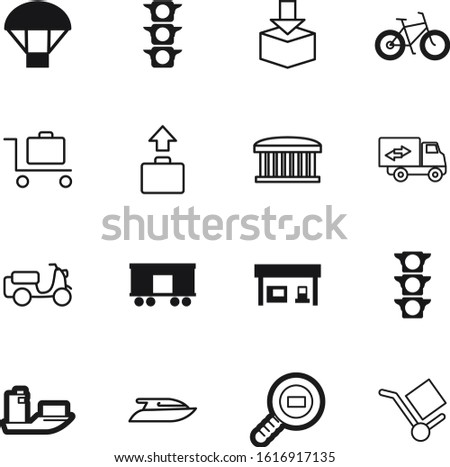 transport vector icon set such as: set, store, sport, car, circle, street, motorcycle, hand, wagon, up, cycle, fuel, power, benzine, rail, beautiful, architecture, trip, fitness, order, diesel