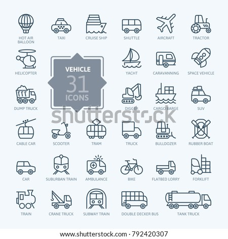 transport  vehicle and delivery