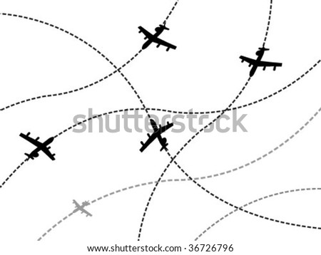 transport with airplane