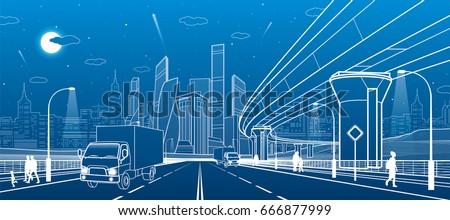 transportation bridge wide