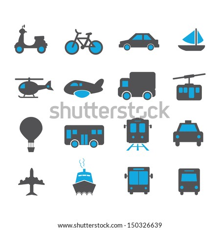Transportation Icon - Color