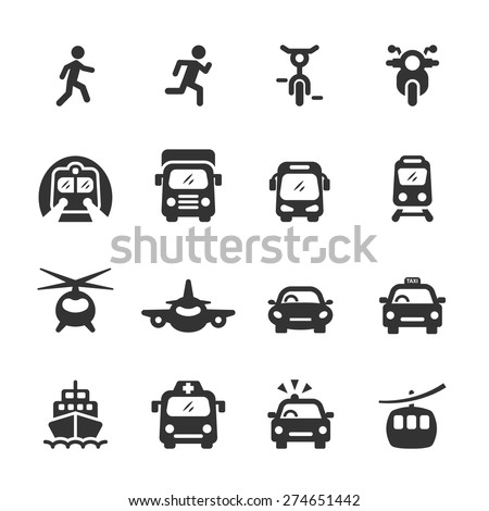transportation icon set 3