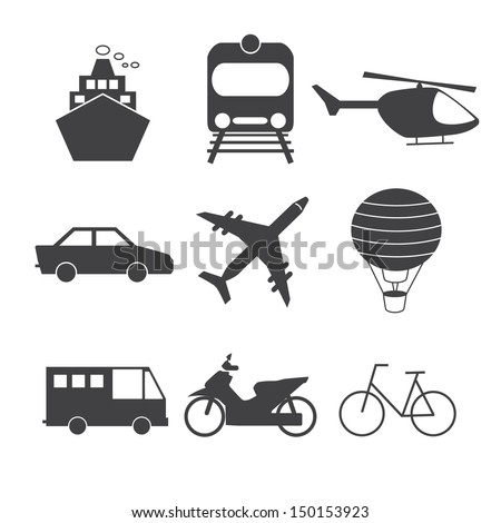 Transportation Icon.Vector EPS 10