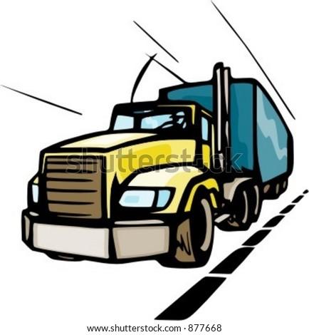 Truck Driver Logo Clip Art Truck Driver Clipart
