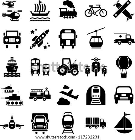 Transports' icons