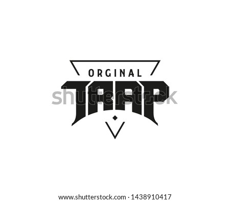 trap music original logo design