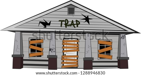 traphouse cartoon trap