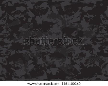 Trashy Camouflage Pattern