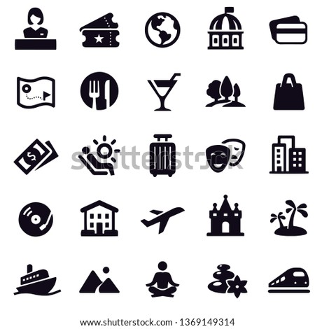 Travel and Leisure Icons