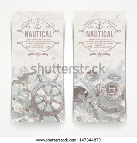travel and nautical   vintage