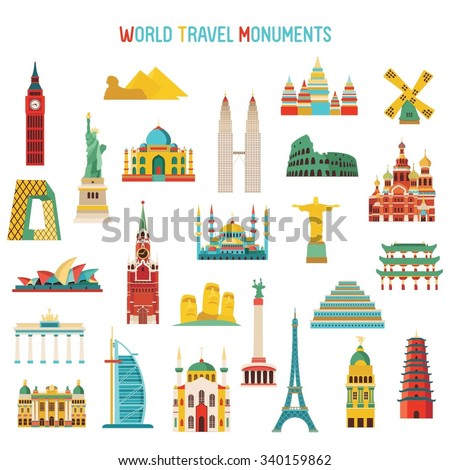 travel and tourism famous world