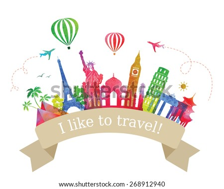 travel  and tourism label