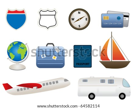 Travel and tourism related items