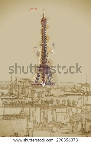 travel background in vector