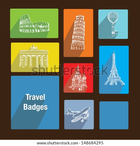 travel badges like metro