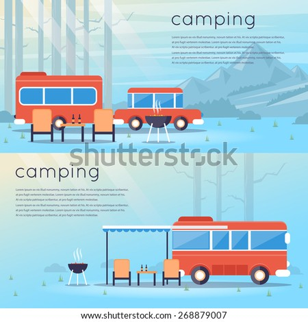 travel by bus camping 2