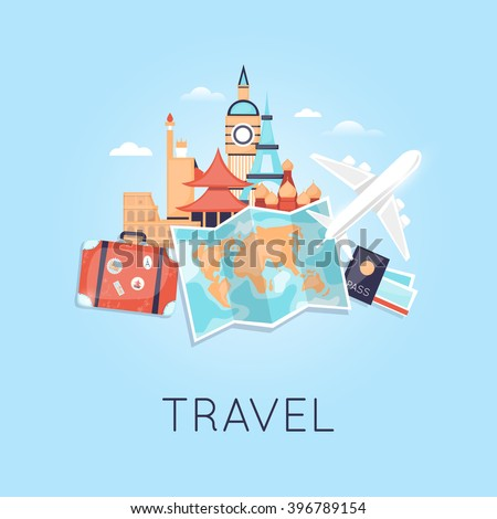 travel by plane russia  usa