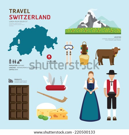 travel concept switzerland
