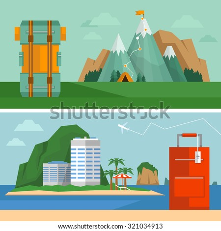 travel concept tropical beach